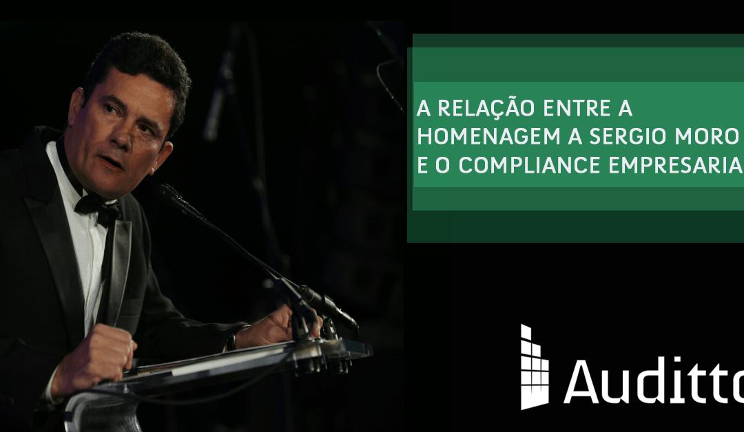 A relação entre a homenagem a Sergio Moro e o compliance empresarial
